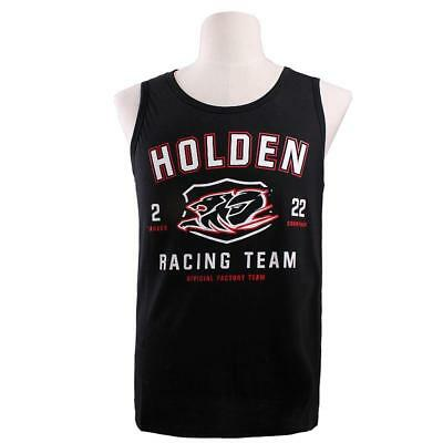 Holden Racing Team Mens Singlet Black Size S-4XL