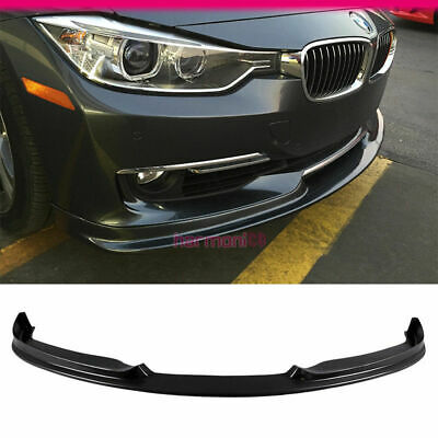 Fits 2012-2015 BMW F30 3-Series 320 328 335 4Dr H-Style Front Bumper Lip PU