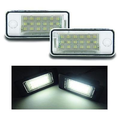 Audi - A8 D3 (4E)  03-07 18 SMD LED Replacement Number Plate Units 6000K White