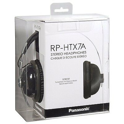 Panasonic Retro Monitor RP-HTX7 Headband Headphones - Black