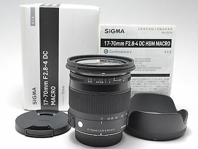 Sigma 17-70mm F2.8-4 DC MACRO Contemporary OS HSM For Nikon [* MINT *] #241