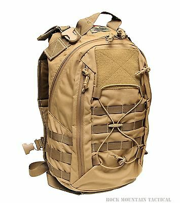 Milspec Monkey MSM Designed Tactical Tailor ADAPT Day Pack - Coyote Brown