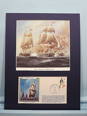 Saluting the South Carolina & Commemorative Cover for the Continental Navy