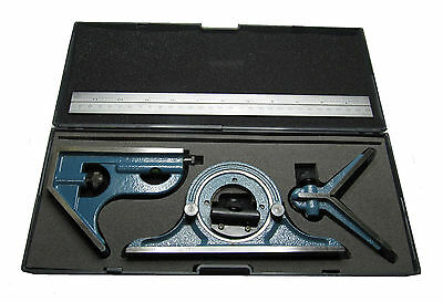 Rdgtools Combination Square Set Protractor 180 Degrees