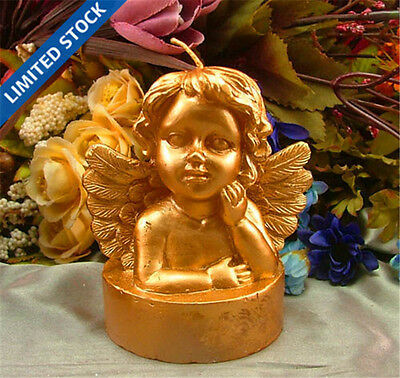 Nicole Handmade Silicone Soap Candle Molds 3D Angel Baby Resin,Clay Craft Molds