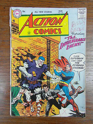 BD US DC COMICS Vintage : ACTION COMICS Nr 226 MARCH 1957  SUPERMAN