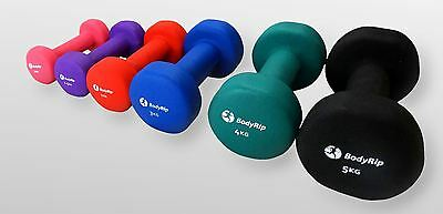 Light Neoprene Hand Dumbbell Weights Fitness Training Home Gym Workout Exercise