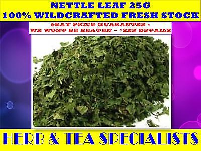 NETTLE LEAF 25G TEA☆100% Urtica dioica- WILDCRAFTED☆RELAXATION☆TEA☆HERBAL☆SAVE