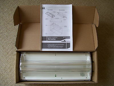 NEW Menvier Emergency Fluorescent Light Non-maintained britelite lumanaire 8W