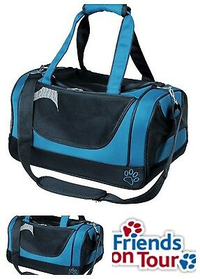 Jacob Pet Carrier Small Blue Black For Cats Rabbits Small Dogs