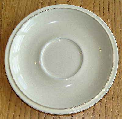 Denby Large Saucer for Breakfast Cup (or Stand for Gravy Boat?) - ENERGY - CREAM