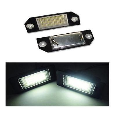 Ford - Focus 1.6 Zetec (03-07) 18 SMD LED Replacement Number Plate Units 6000K