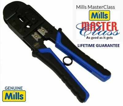 BT BT431a 631A Crimping Crimper Tool for Telephone Plugs Cable + 2 Genuine Plugs