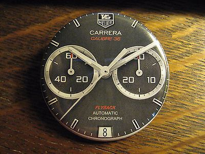Tag Heuer Mirror - Carrera Calibre 36 Flyback Swiss Watch Pocket Lipstick Mirror