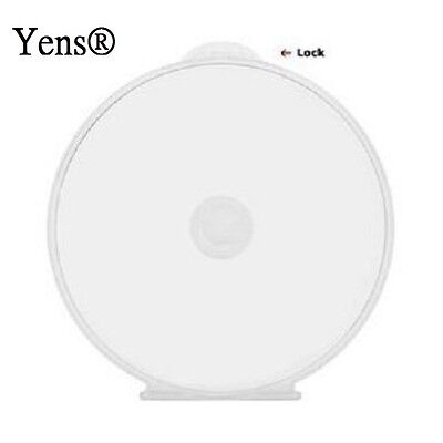 Yens® 200 Premium Clear Single C Shell Poly CD DVD Case 200#Cshell