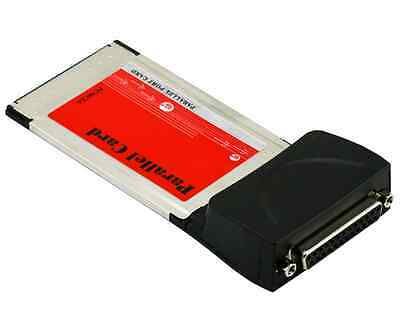 High Speed PCMCIA Cardbus to LPT Parallel Port Adapter for Laptop With Driver Mo