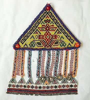 Kuchi Afghan Tribal Vintage Handmade Wall Hanging Tapestry Decor Authentic Des L