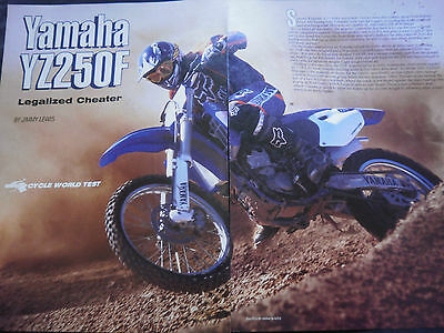 Yamaha Yz250F - 4 Page Colour Road Test