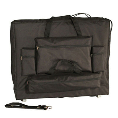 """Massage Table Carrying Case W/ Wheels Replacement + Universal 30"""" Width 4 Pocket"""