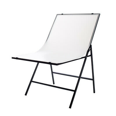 """StudioPRO 24""""x40 Portable Foldable Shooting Table Top Backdrop White Photography"""