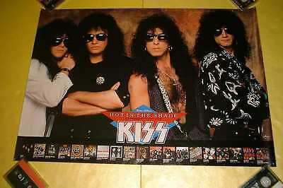 KISS JAPAN POSTER 1989 Hot in the Shade