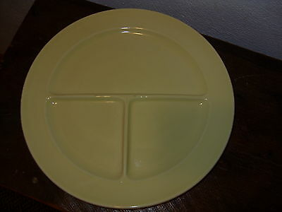 Luray Pastels Yellow Grill Plate Taylor Smith & T-Free US Shipping-TS & T-HTF