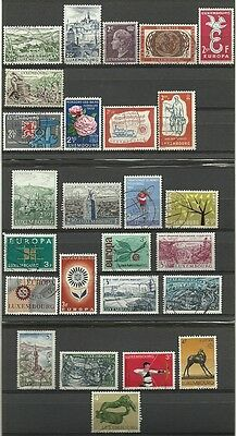 Luxembourg used lot/collection 1948-1974
