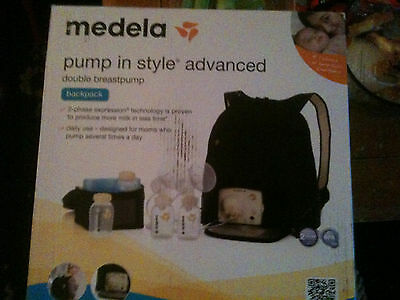 Medela Pump In Style Advanced Breast Pump backpack - NEW - Opened box 2016/17
