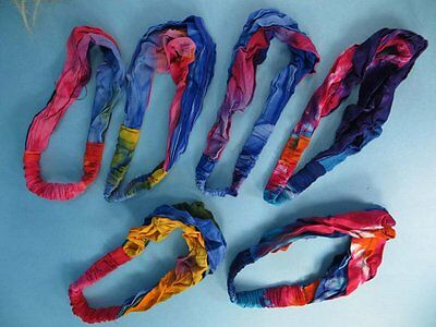 US SELLER-wholesale 10 Rayon fabric lady headband handmade in Bali Indonesia