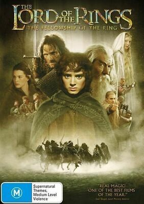 The Lord Of The Rings - The Fellowship Of The Ring (DVD 2002, 2-Disc Set) R4