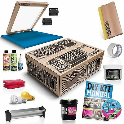 DIY Print Shop Screen Printing Starter Kit - Table Top - PKST-DIYTTHKIT