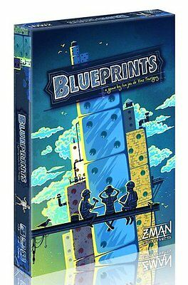 Blueprints Board Game - Brand New!