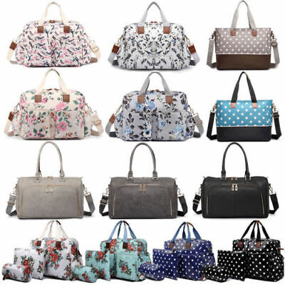 4ps Mummy Changing Tote Bag Maternity Baby Wipe Clean Bottle Holder Mat