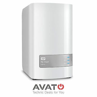 Western Digital WD My Cloud Mirror NAS Storage 2-Bay 1 x Gigabit LAN