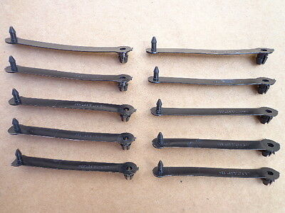 10 WIRE HARNESS OR VACUUM LINE STRAPS!!! ATTACH TO FIREWALL & FENDER WELL 73A-82