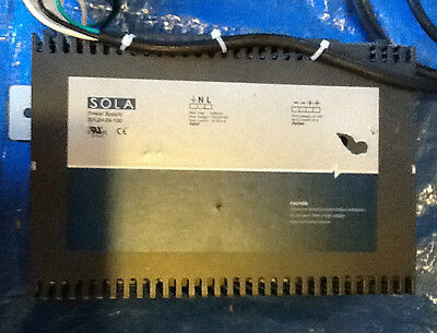 Sola, SFL24-24-100, Power Supply 24v Tested