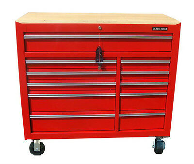31 US Pro Tool Chest Box roll cabinet toolbox red box FINANCE AVAILABLE !