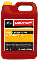 Genuine Ford Motorcraft Gold Concentrated Anti-Freeze Coolant