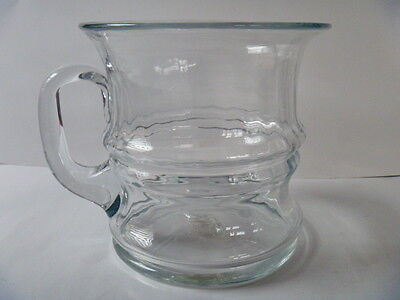 Vintage Blenko Glass #7818 CRYSTAL CLEAR BAMBOO PITCHER 1978 Only DON SHEPHARD