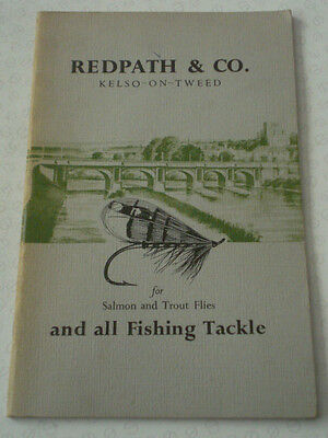 A Scarce Vintage Copy Of Circa 1960 Redpath & Co Advertising Fishing Catalogue