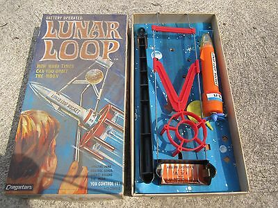 lunar loop  rocket toy in original box