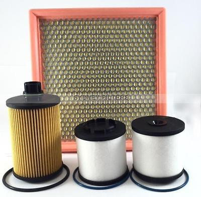 Jeep Grand Cherokee / Chrysler 300C 3.0L V6 Crd Air Oil Fuel Filter Kit