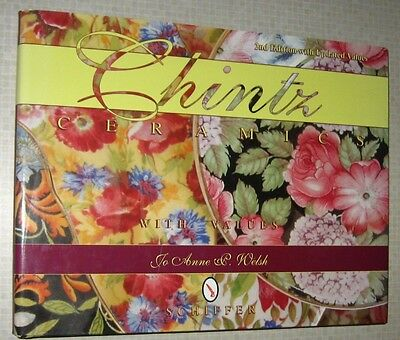 CHINTZ PORCELAIN PRICE GUIDE COLLECTOR'S BOOK Wall Pocket Dish Teapot Saucer