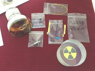 "3"" Scintillation Detector BASIC KIT Includes PMT Scintillator Electronics & BNC"