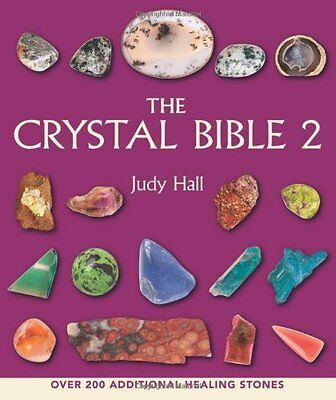 The Crystal Bible 2 by Judy Hall, (Paperback), Walking Stick Press , New, Free S