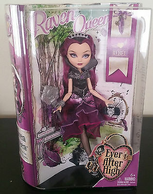 EVER AFTER HIGH RAVEN QUEEN DOLL ***DAUGHTER OF THE EVIL QUEEN***