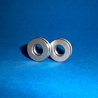2 Axiallager / Axial Kugellager / Drucklager F7-17M / 7 x 17 x 6  mm