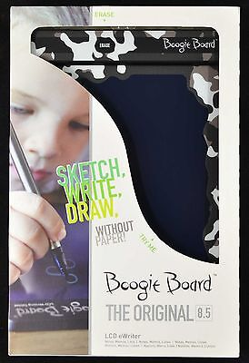 Boogie Board 8.5-Inch LCD Writing Tablet, Grey/White