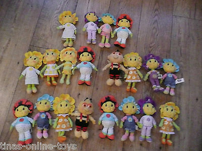 Fifi And The Flowertotes Primrose Violet Poppy Beanie Doll Sets Soft Toys