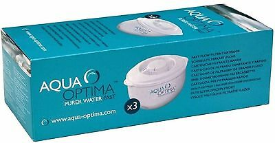 Aqua Optima 30-Day Water Filter 3 pack - 3 months supply New